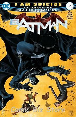 Batman #12 (2016) 1St Printing Bagged & Boarded Dc Universe Rebirth