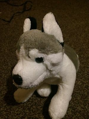 Husky Dog Soft Toy 12 Inches Long
