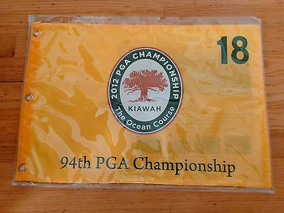 94th PGA CHAMPIONSHIP PIN FLAG - RORY MCILROY - COURSE MAP - EXCELLENT CONDITION
