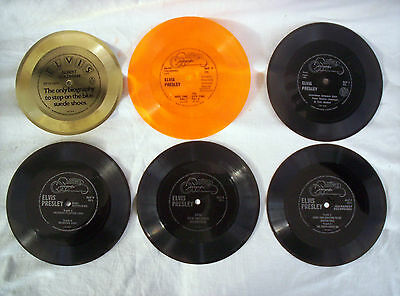 Elvis Presley, 6 X Flexi Discs, Rare Interviews And More,all In Great Condition