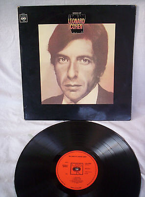 Leonard Cohen,songs Of Leonard Cohen,1967,stereo, Very Good Condition