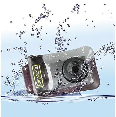 DicaPac WP410 (10.5x16.0cm) Small Zoom Alfa Waterproof Digital Camera Case with