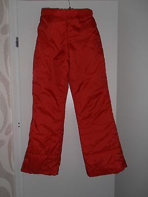 Red Ski Sallopets- Size Height 160