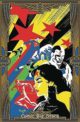 Justice League #10 (2016) 1St Printing Variant Cover Dc Universe Rebirth