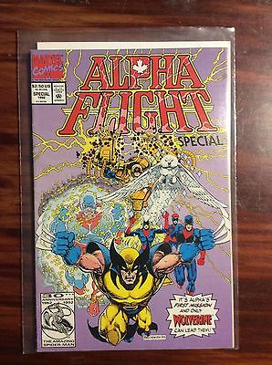 Marvel Comics Alpha Flight Special 1992