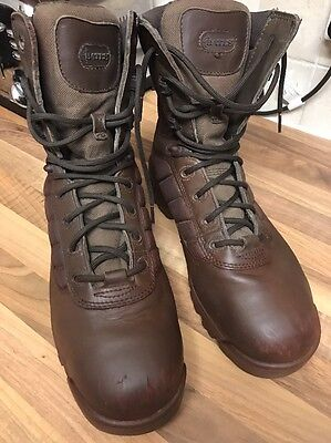 Genuine Issue British Army Brown Patrol Bates Boots 10M Airsoft Military