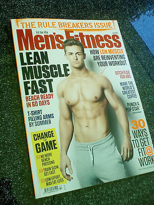 Men's Fitness UK magazine - July 2016 LDNM, Big Arms work7out, Conor McGregor