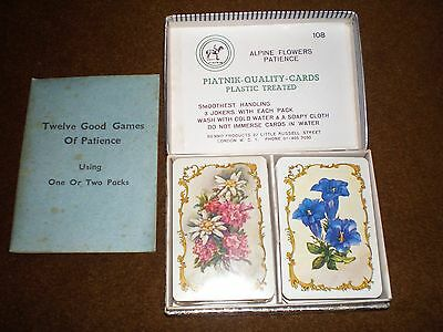 Piatnik Patience Cards with Games Book