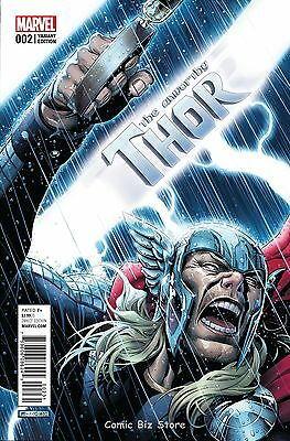 Unworthy Thor #2 (Of 5) (2016) 1St Printing Scarce 1:50 Cheung Variant Cover