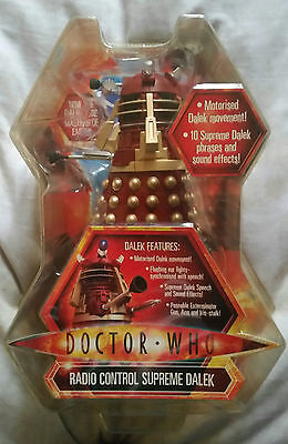 Doctor Who Radio Controlled 5 Inch Supreme Dalek . New And Sealed .