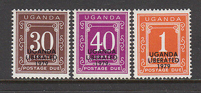 Uganda Liberated 1979 Postage Due stamps unmounted mint