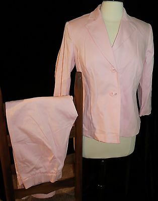 Mimi Maternity Cotton Blend Pink Pant Suit Size S NEW With Tags
