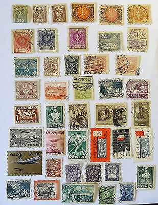 Poland Old Early Stamps used & unused lot679