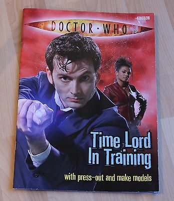 Doctor Who Time Lord in Training Activity Book