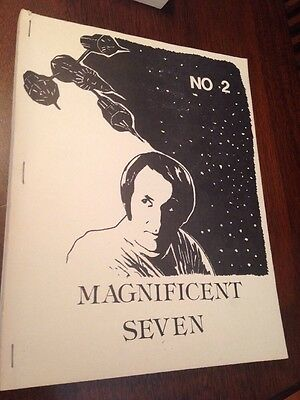 Magnificent Seven #2 First Edition 1984 Blake's 7 S.Paulson Pony Press RARE