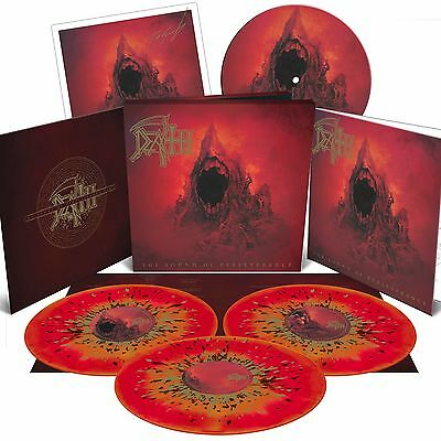 DEATH - The Sound Of Perseveranc DELUXE BOX  3xLP, Slipmat,Booklet, Litho....