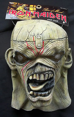 Iron Maiden Piece Of Mind Latex Mask [Neca] Official Product - New!!! Adult 14+