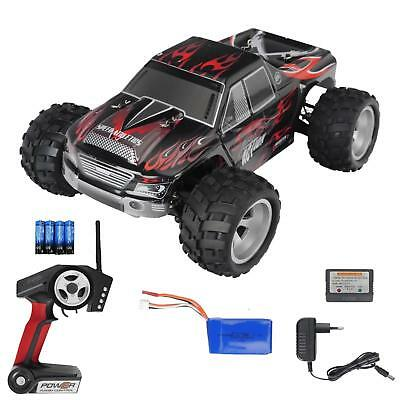 RC Modellbau Auto Elektro  2,4G 1:18 Buggy Ferngesteuert 4WD bis 50 kmh RTR Rot