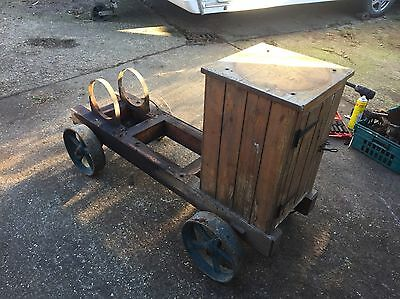 Lister L Stationary Engine Trolley