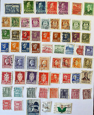 Norway Old Early Stamps lot711