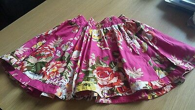 Girls Lovely A-Lined Floral Skirt