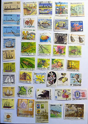 Singapore Collection Of Stamps lot585
