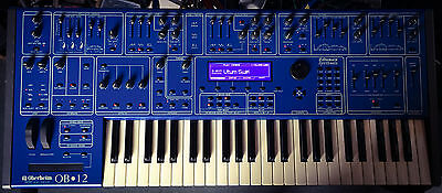OBERHEIM OB-12 - Kult-Synthesizer / neues Display - very rare classic Synth