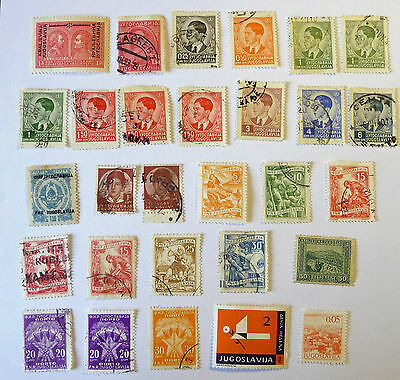 Yugoslavia Old Early Stamps lot708