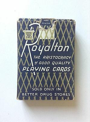 Vintage Royalton Playing Cards Linen Finish