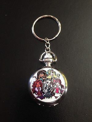 Monsters High Pocket Watch Keyring