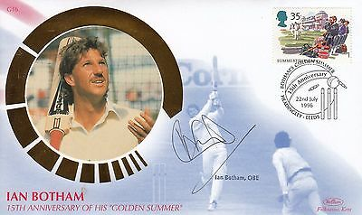 "Ian Botham -  ""Botham's Ashes"" Signed Cover"