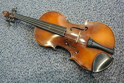 """1/4 Violin 11""""/18.5""""  SZEGEDI HANGSZERGYAR with hard case and soft cover"""