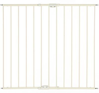 North States Supergate Tall Easy Swing and Lock Gate, Linen