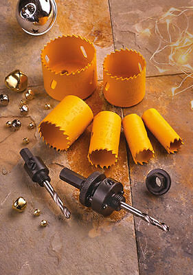 XMS16HOLESAW Faithfull Professional Holesaw Set 9 Piece **Real Deals For You**