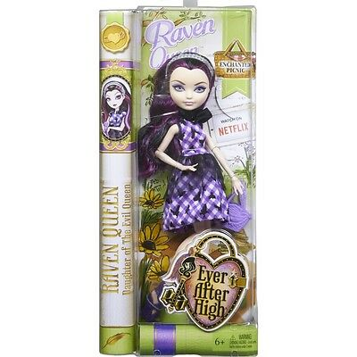 Ever After High Enchanted Picnic Rebel Raven Queen Doll Brand New Cld84