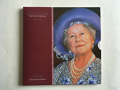 2000 Queen Mother Centenary Crown, Brilliant Uncirculated Coin Pack