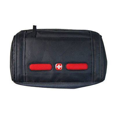 Wenger Swiss Army Travel Toiletry Wash Bag - Black
