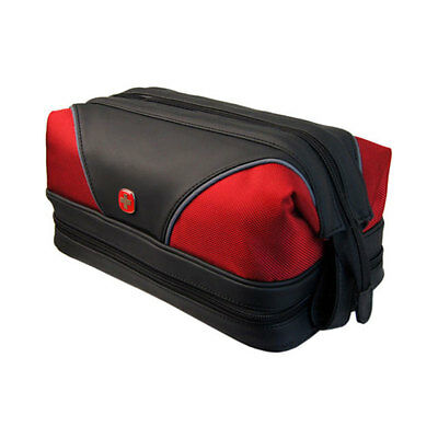 Wenger Swiss Army Jumbo Travel Toiletry Wash Bag - Red