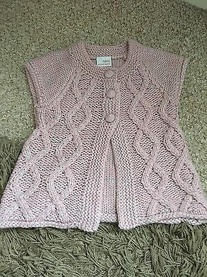 Girls 12-18month Next Pink Knitted Cardigan