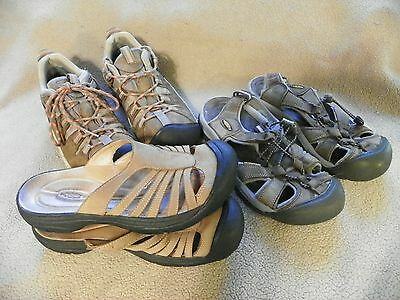 Womens Keen shoes size 8.5, lot of 3,  Hiking & Sandals
