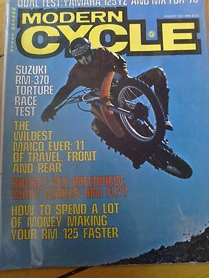 Vintage motocross 1976 Modern Cycle magazine
