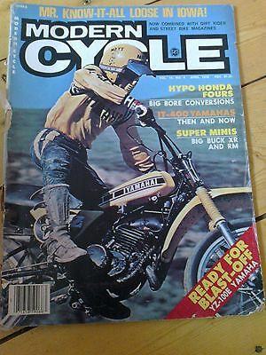 Vintage motocross 1978 Modern Cycle magazine