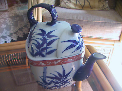 Chinese collectable square shape teapot.