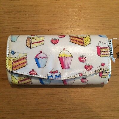 NEW Cupcake Cake Pattern Glasses/sunglasses Case