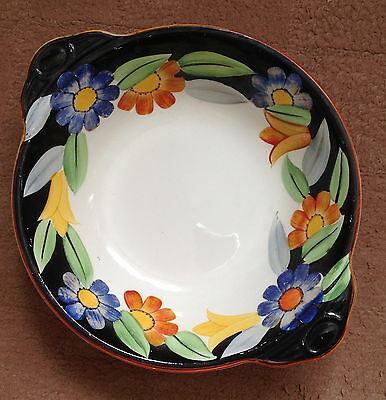 Gray's Art Deco Hand-Painted Susie Cooper Design 7913 Large Bowl