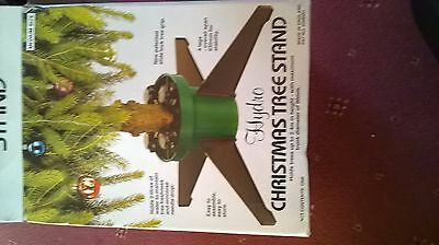Hydro Christmas Tree stand with water tank - unused in box