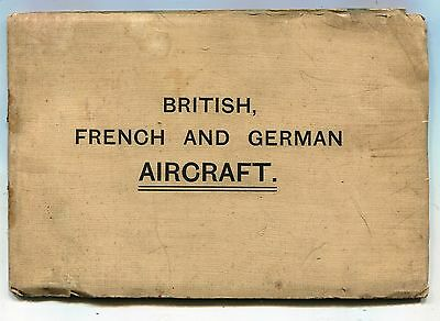 Military WW1 Silhouettes Allied & German Aircraft Booklet