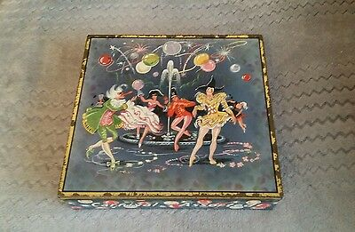 Rare, collectable, vintage Huntley and Palmers biscuit tin