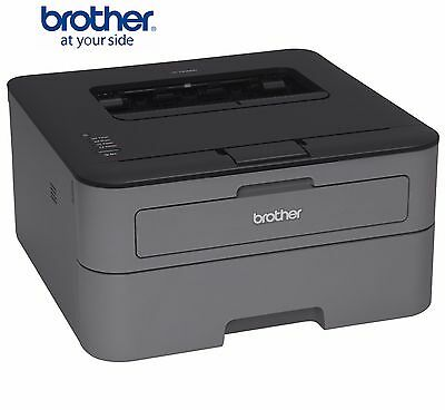 Brother HL-L2300D Compact Mono Laser Printer, USB, 26ppm, with Duplex