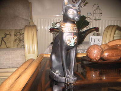 Colletable Egyptian Cat God Diety Bastet Statue